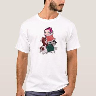 赤ずきんのファッション Tシャツ