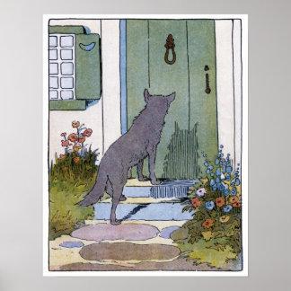 赤ずきん: ドアのオオカミ ポスター