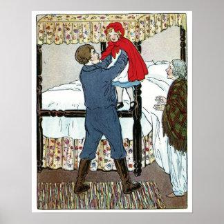 赤ずきん: 少し赤い金庫 ポスター