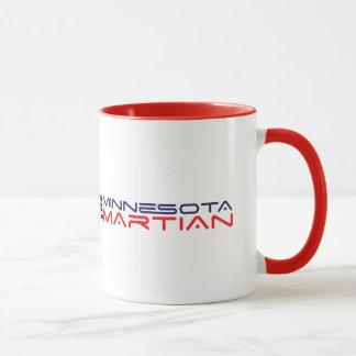 赤で環状15のozミネソタの火星のマグ マグカップ
