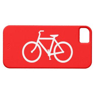 赤と白のバイク iPhone SE/5/5s ケース