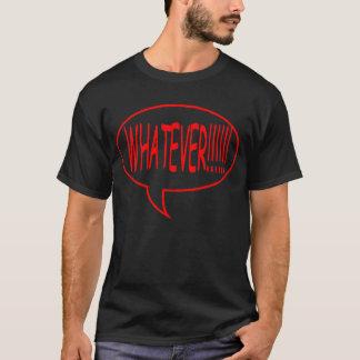 赤どんなスピーチの泡 Tシャツ