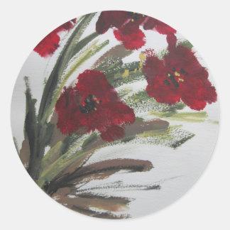 赤によってはoililonmo.jpgが開花します ラウンドシール