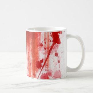 赤によって汚されるハロウィン コーヒーマグカップ