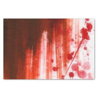 赤によって汚されるハロウィン 薄葉紙