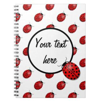 赤のてんとう虫 ノートブック