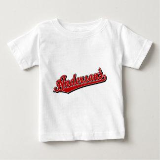 赤のアンダーソン ベビーTシャツ