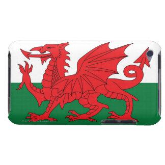 赤のウェールズの国旗のイラストレーション、 Case-Mate iPod TOUCH ケース