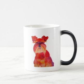 赤のオースティン マジックマグカップ