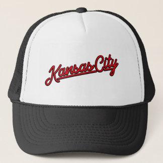 赤のカンザスシティ キャップ