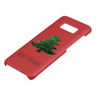 赤のクリスマスツリーの緑の輝きを個人化して下さい Case-Mate SAMSUNG GALAXY S8ケース