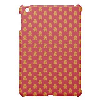 赤のジンジャーブレッドマン iPad MINIケース