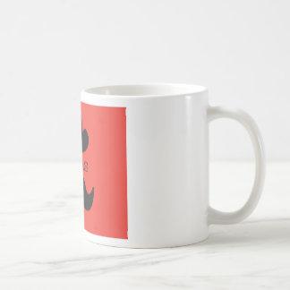 赤のテキサス州 コーヒーマグカップ