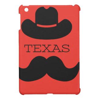 赤のテキサス州 iPad MINIケース