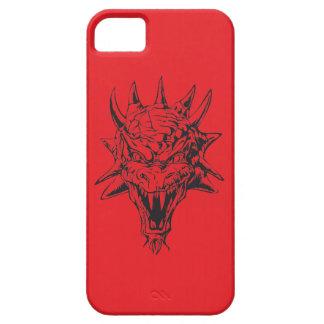 赤のドラゴンの頭部 iPhone SE/5/5s ケース
