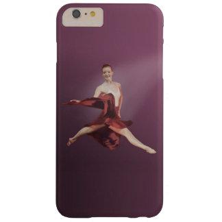 赤のバレリーナの跳躍 BARELY THERE iPhone 6 PLUS ケース