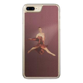 赤のバレリーナの跳躍 CARVED iPhone 8 PLUS/7 PLUS ケース