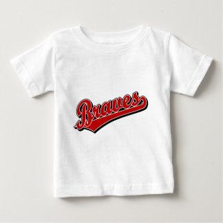 赤のブレーブス ベビーTシャツ