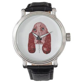 赤のルビー 腕時計