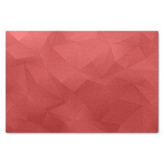 赤の抽象的な三角形 薄葉紙