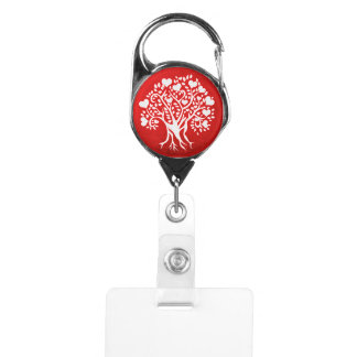 赤の生命の樹、バッジホールダー IDカードホルダー