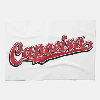 赤の空想のCapoeira キッチンタオル