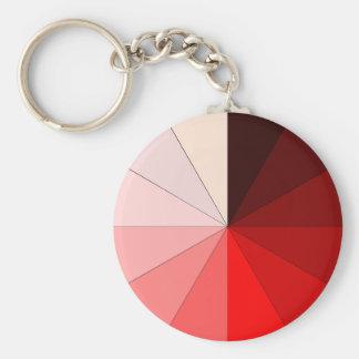 赤の色合い キーホルダー