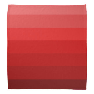 赤の色合い バンダナ