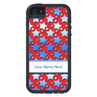 赤の青く白い星 iPhone SE/5/5s ケース