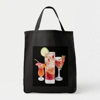 赤の飲み物 トートバッグ