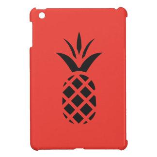 赤の黒いマツApple iPad Miniケース