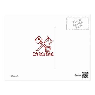 赤の1929年のマレーTowneのセダン ポストカード