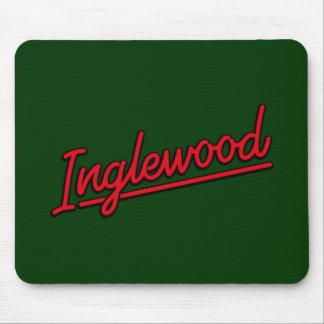 赤のInglewood マウスパッド