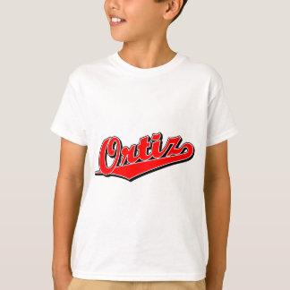 赤のOrtiz Tシャツ