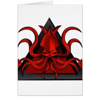 赤はイラストレーションをkraken カード