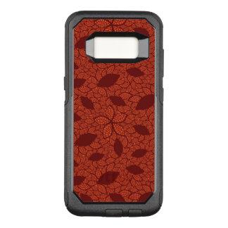 赤はオレンジのパターンを残します オッターボックスコミューターSamsung GALAXY S8 ケース