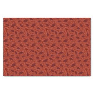 赤はオレンジのパターンを残します 薄葉紙