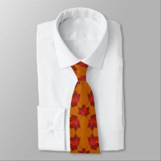 赤はオレンジ秋のタイを残します ネクタイ