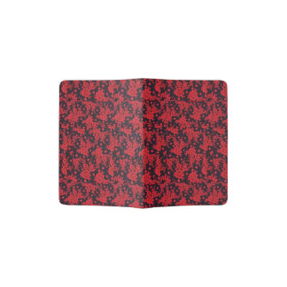 赤はホールダーパスポートの咲きます パスポートカバー