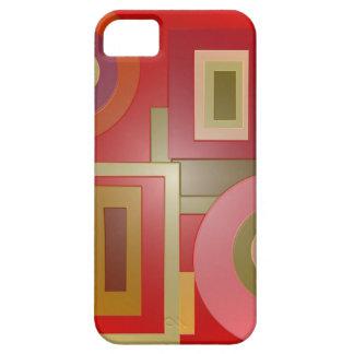 赤はポップアートを形づけます Case-Mate iPhone 5 ケース
