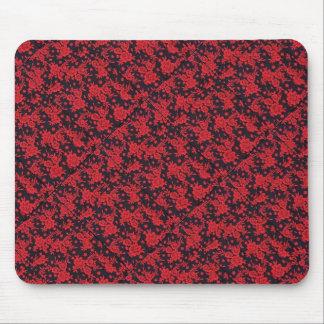 赤はマウスパッド咲きます マウスパッド