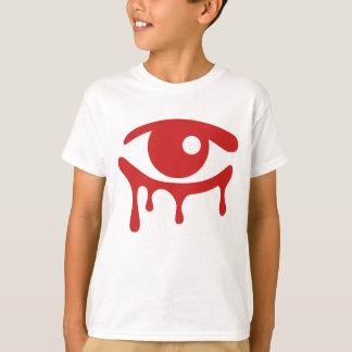 赤は子供のTシャツを引き裂きます Tシャツ