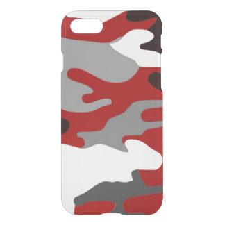 赤は迷彩柄を尾行します iPhone 7ケース