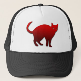 赤は邪悪な猫衰退します キャップ