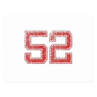 赤はJerzee第52を遊ばします ポストカード