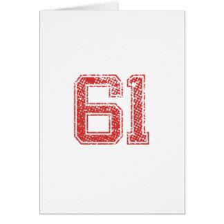 赤はJerzee第61を遊ばします カード