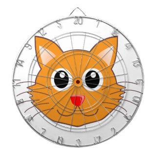 赤ゆっくり進られたオレンジ猫 ダーツボード