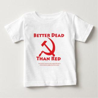 赤よりよい死者 ベビーTシャツ