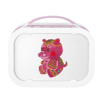 赤ん坊のカバ ランチボックス