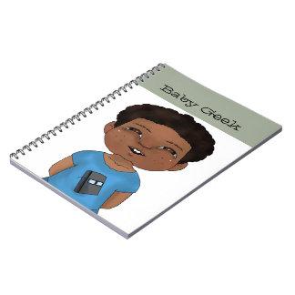 赤ん坊のギーク(男の子) ノートブック